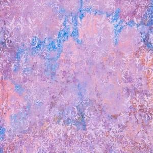 Capua ornament purple blue