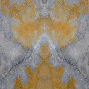 ONYX Heart blue gold grey