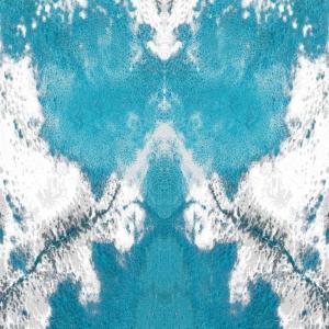 ONYX Heart blue white